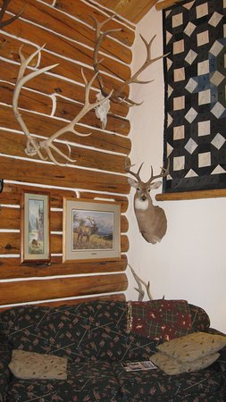 Skyline Guest Ranch and Guide Service: Another angle of the main room
