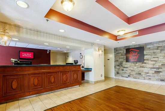 Red Roof Inn Roanoke - Troutville: Lobby