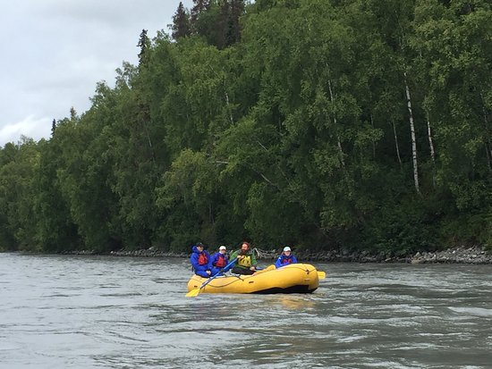 Denali Southside River Guides: We had an awesome day yesterday kayaking & rafting with Simon & Murph.   Lots of local knowledge