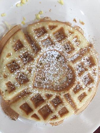 Oakhurst, Καλιφόρνια: breakfast waffle