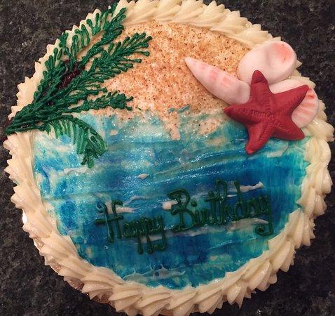 Birthday Cake from Caicos Bakery