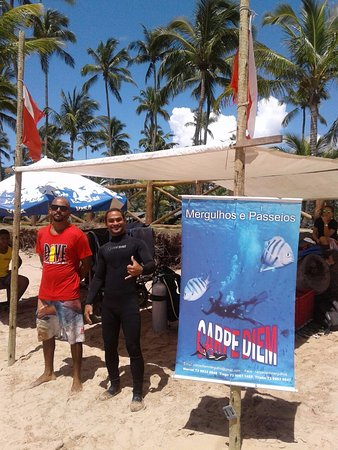 Carpe Diem Dive Center: base de praia