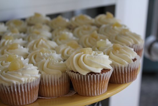 Watertown Hotel - A Piece of Pineapple Hospitality: Pineapple Cupcakes Awaiting Your Arrival