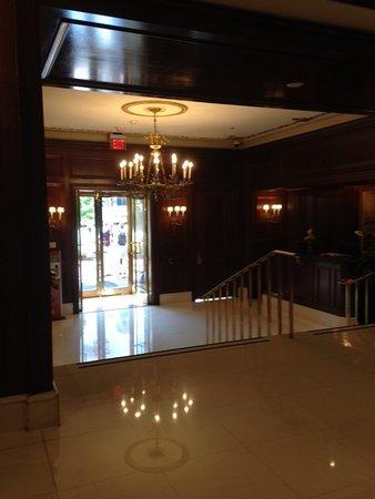 The Fairfax at Embassy Row, Washington D.C.: Fairfax view from top of lobby