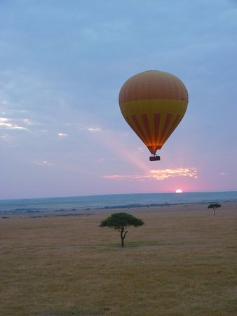 F. King Tours and Safaris - Day Tours: Sunrise over over the Mara