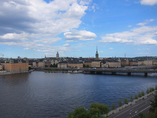 Free Tour Stockholm : view from the best look out spot in the world!