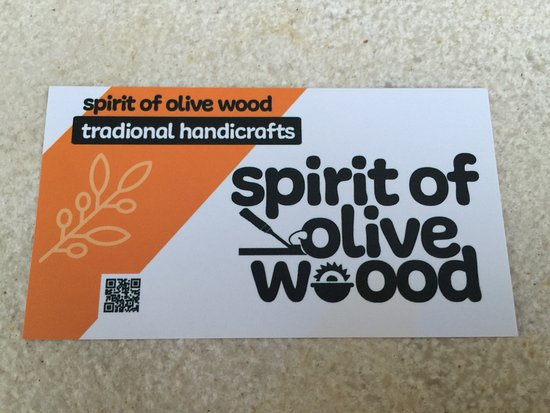 Spirit of Olive Wood