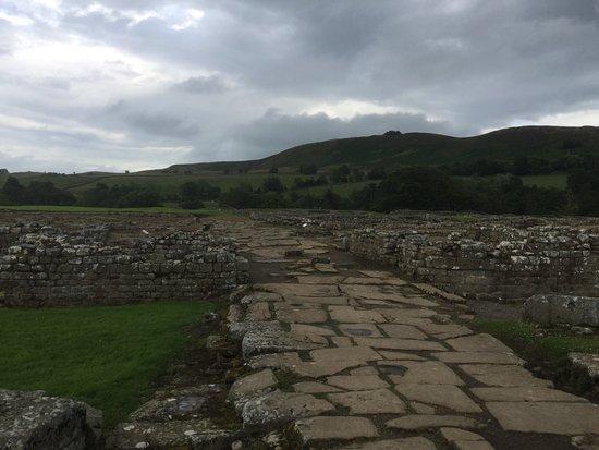 Хексхам, UK: Roman road