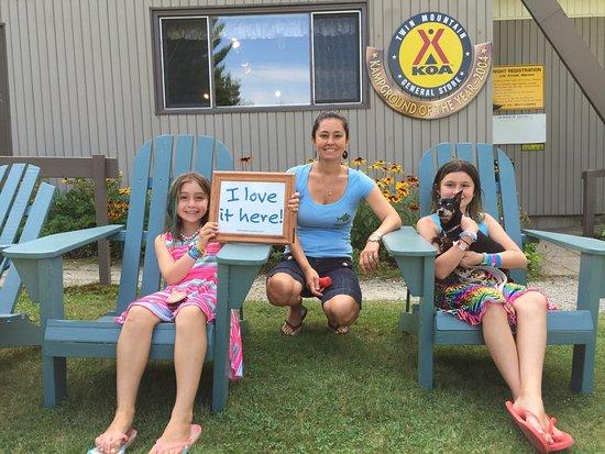Twin Mountain KOA: Welcome this KOA!