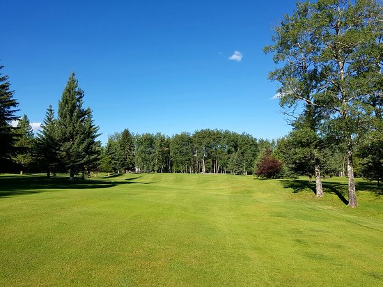 Valleyview, Kanada: What a great day for golf!