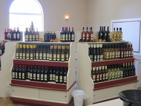 Talon Winery: Wines offered for tasting and sale