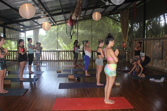 Dominical, Costa Rica: Danyasa yoga space