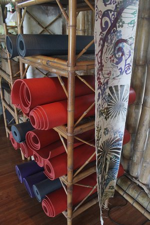 Dominical, Costa Rica: yoga mats
