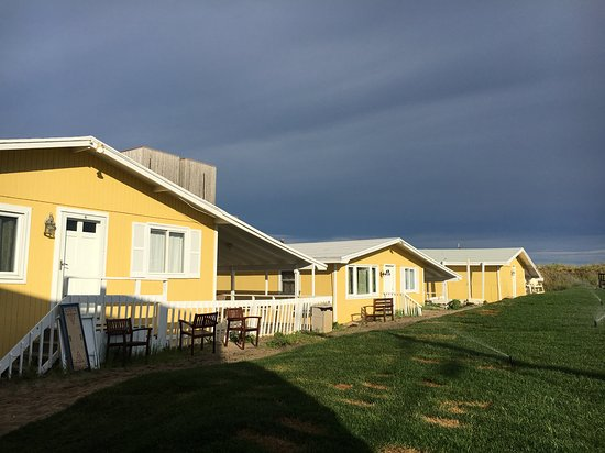 Hampton Ocean Resort: Cottages by the sea!