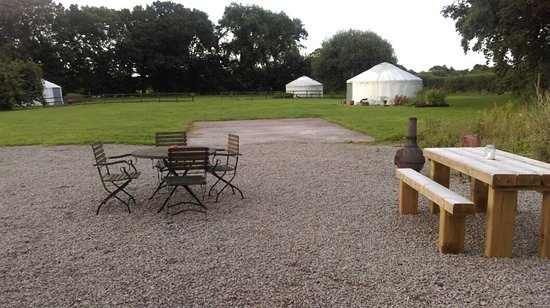 Luxury glamping at Duncan's Place