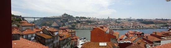 Carris Porto Ribeira: Room 404 Duplex Suite view from second floor