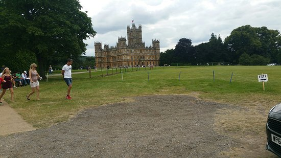 Highclere Castle: Its all free parking there.