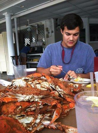 Stevensville, MD: Crabs from Kentmoor