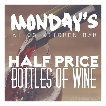 Rocky Hill, CT: Half Price Wine Bottle Mondays*