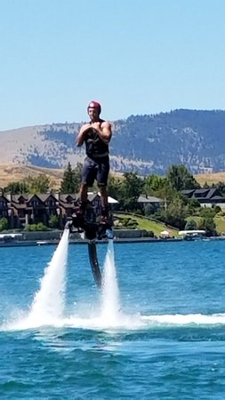 Flyboard of Montana.: So much fun!