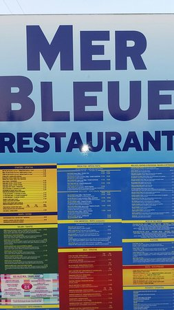 Mer Bleue Beach Restaurant: Mer Bleue on the road_large.jpg