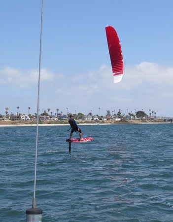 Paradise Point Resort & Spa: Paradise Point attracts water enthusiasts for many activities.