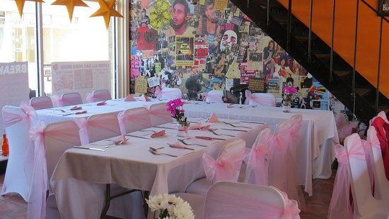 Gosport, UK: Wedding reception