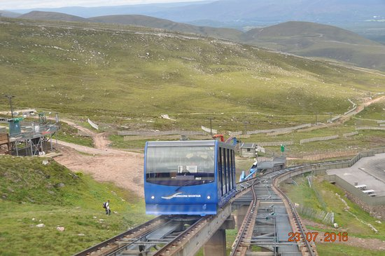 Aviemore, UK: The passing point on the line