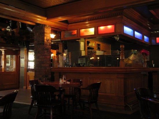 River City Pub & Patio: The dj's area.