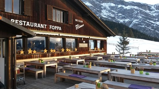 Flims, Switzerland: Berghaus Foppa