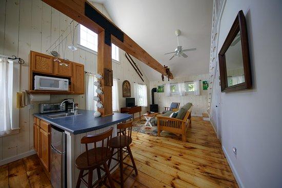 Sunapee, NH: Cottage 1 Kitcheonette