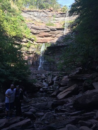 Haines Falls, Νέα Υόρκη: double waterfall