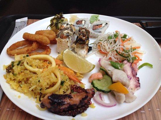 kiro sushi show