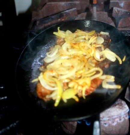Playa Coronado, Панама: Carne asada