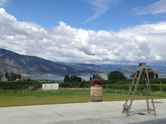 Penticton, Canadá: View from the Winery