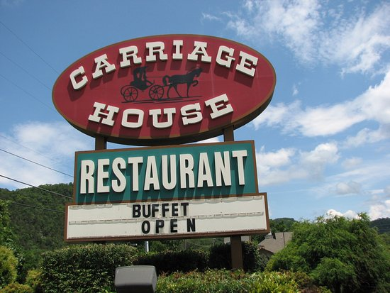 Carriage House Restaurant: Sign