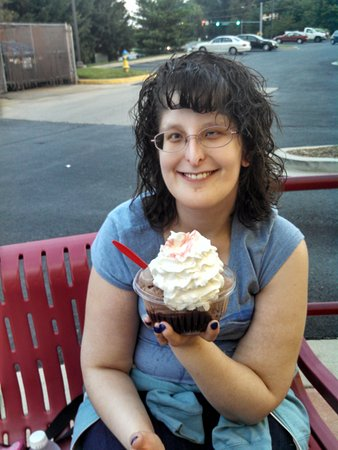 Brownie Sundae, Bruster's Real Ice Cream, Frederick, MD