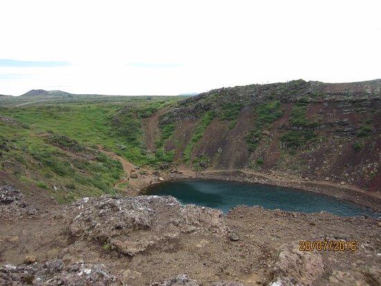 Selfoss, Island: Kerid crater lake