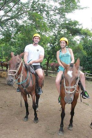 Rincon de La Vieja, Kostaryka: Horseback riding