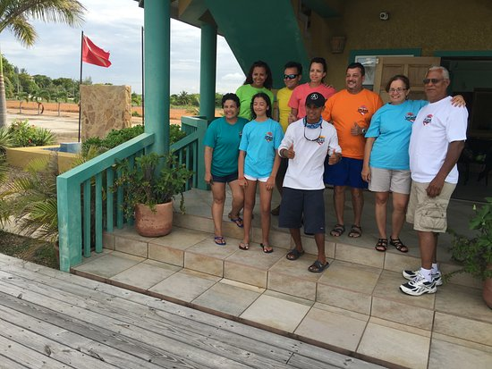 Splash Dive Shop: at the end of our Silk Caye trip