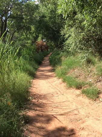 Palo Duro Canyon State Park: One of the well maintained trails
