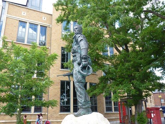 Irish Guardsman Statue