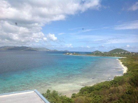 Sugar Bay Resort & Spa: Views from hotel terrace
