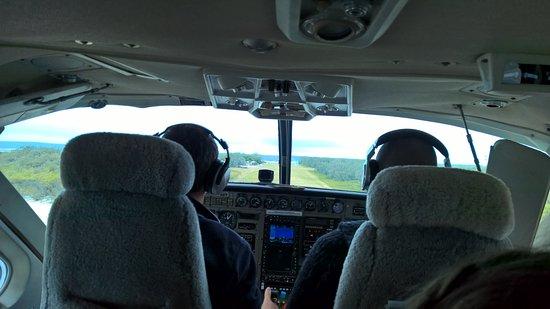 Остров Леди Эллиот, Австралия: Ready for landing