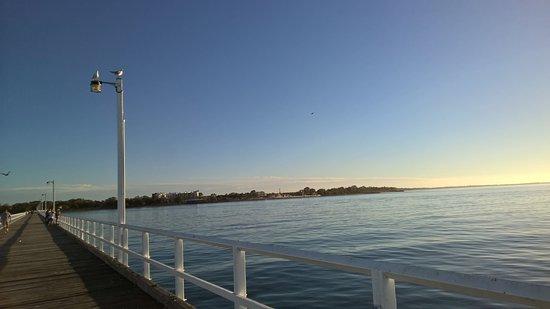 Hervey Bay, Avustralya: A long walk, but nice