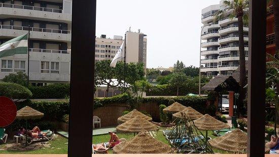 Hotel Tropicana: Poor view from ground floor room.