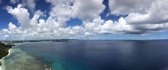 Two Lovers Point: Tumon beach!