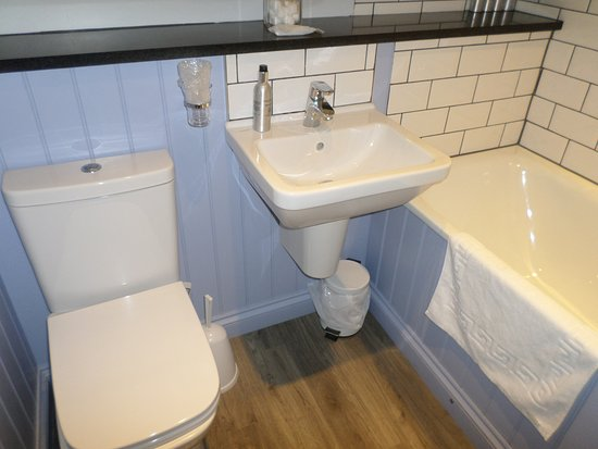 Porthleven, UK: Ensuite for Trevarno room