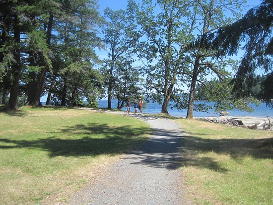 Nanaimo, Canadá: Shoreline Trail, Newcastle Island