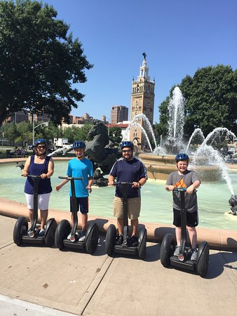 Explore the heart of Kansas City, seeing some of the most amazing museums and parks on an easy to use Segway. This will be one of the most fun adventures you've ever had.